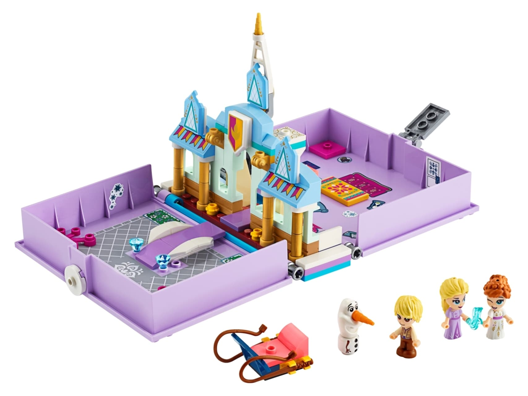 LEGO® Friends Anna and Elsa's Storybook Adventures