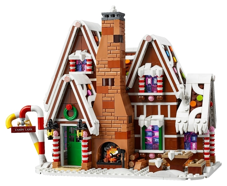 LEGO® Gingerbread House