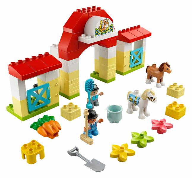LEGO® DUPLO® Horse Stable and Pony Care