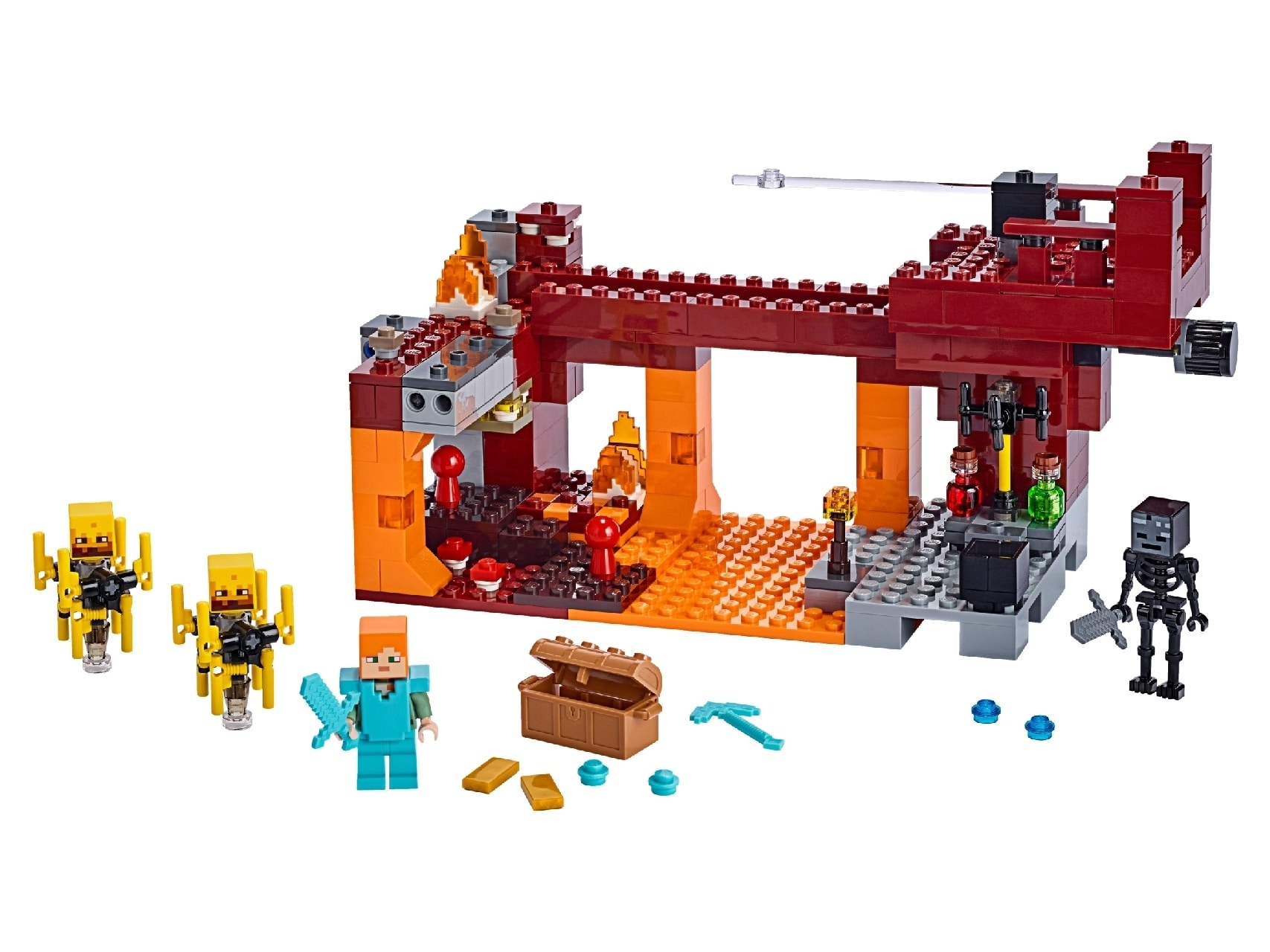 LEGO® Minecraft™ The Blaze Bridge
