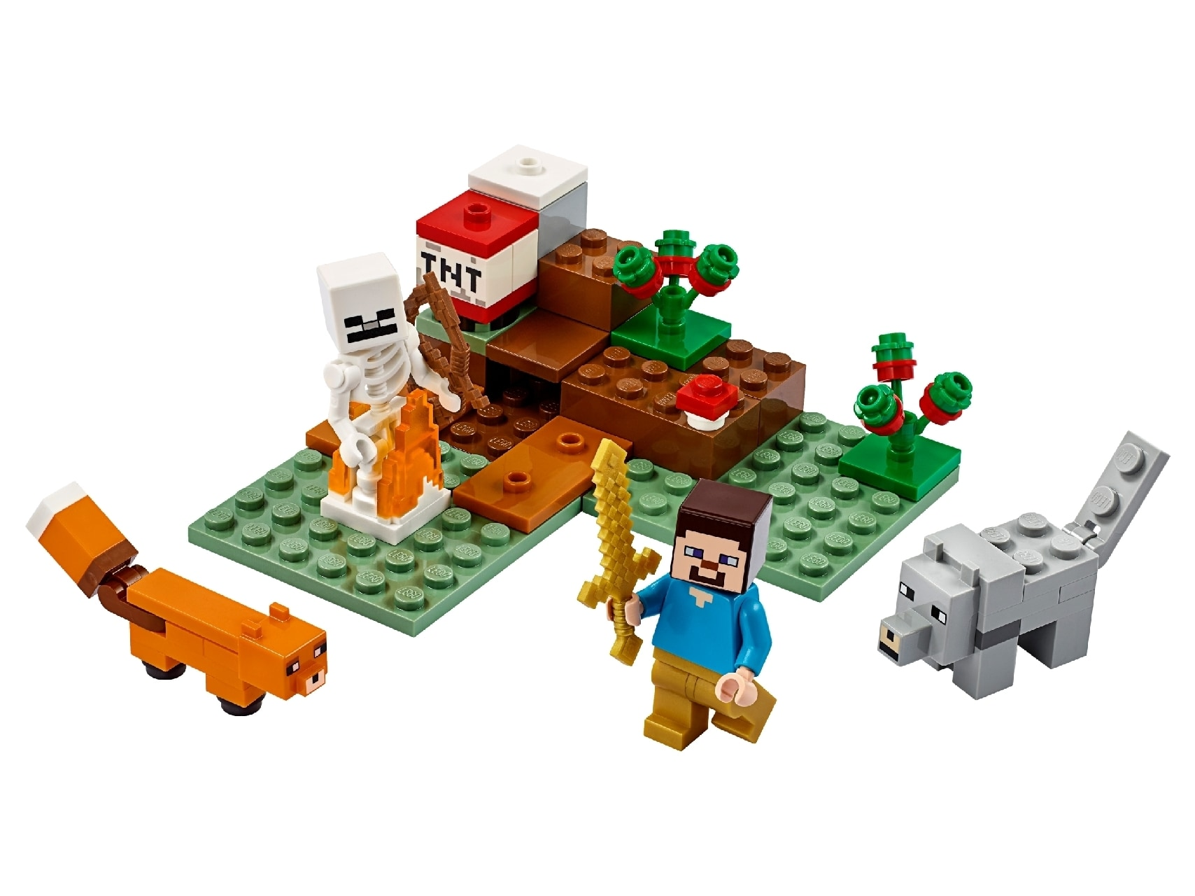 LEGO® Minecraft™ The Taiga Adventure