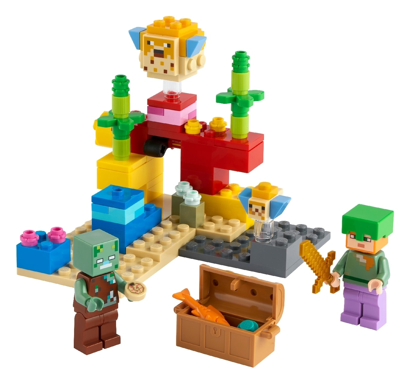 LEGO® Minecraft™ The Coral Reef