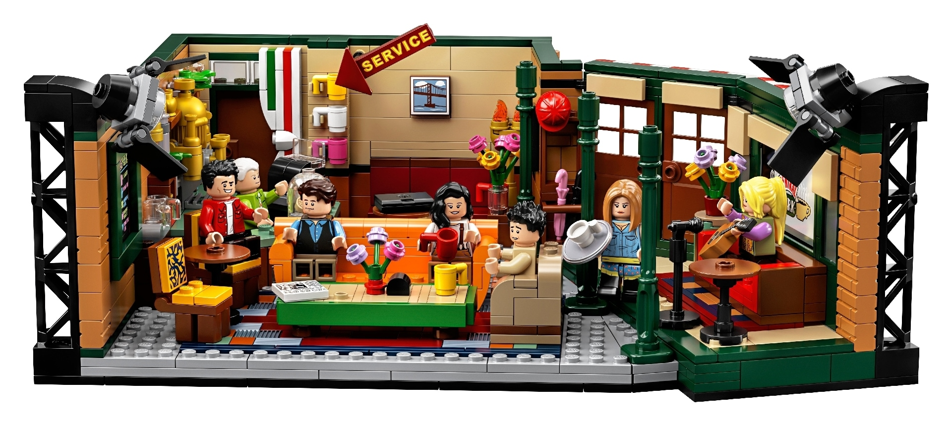 Friends Central Perk Cafe