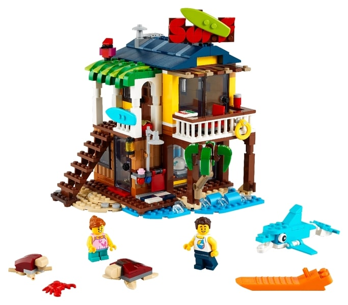 LEGO® Creator 3in1 Surfer Beach House
