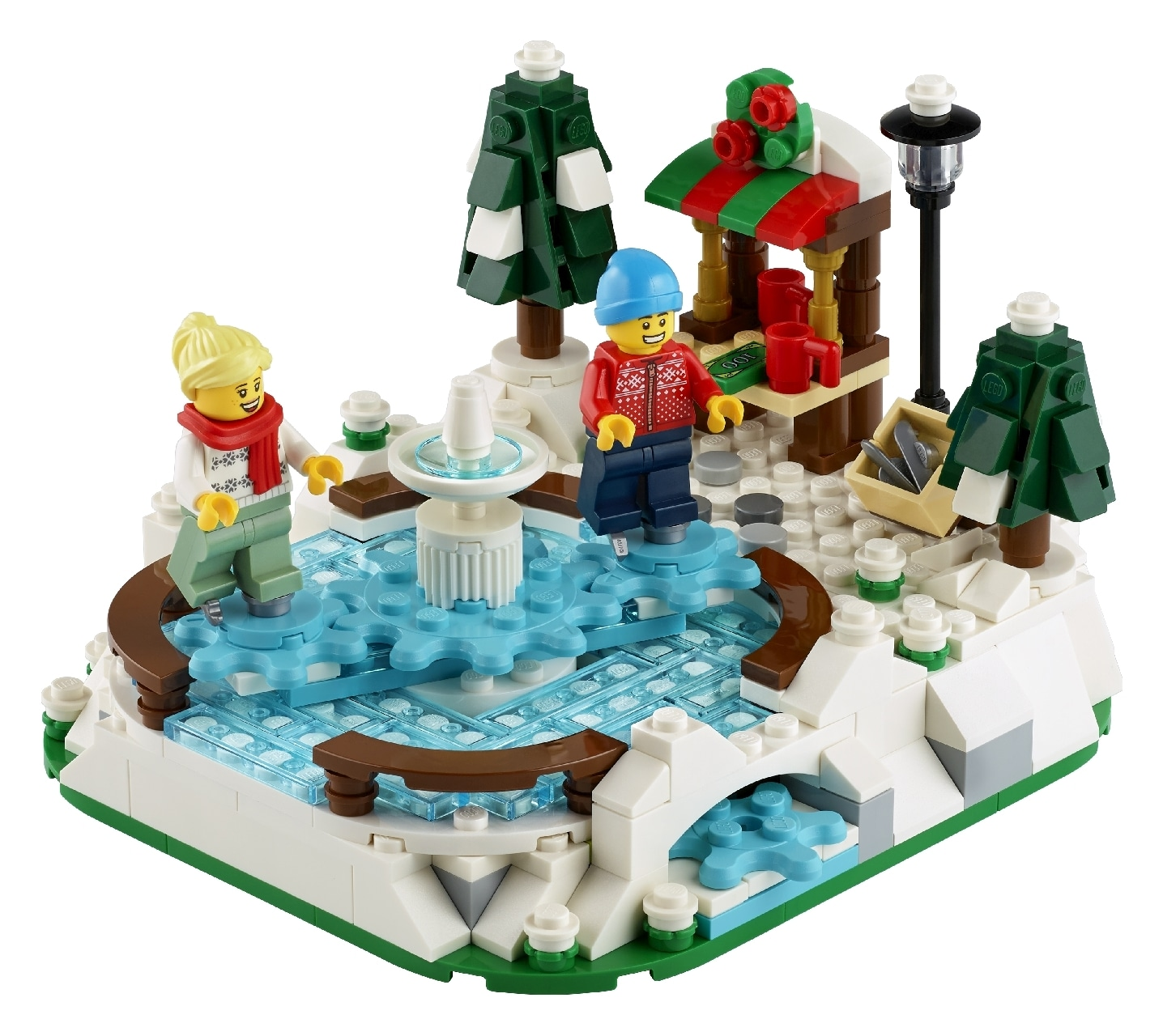 LEGO® Ice Skating Rink