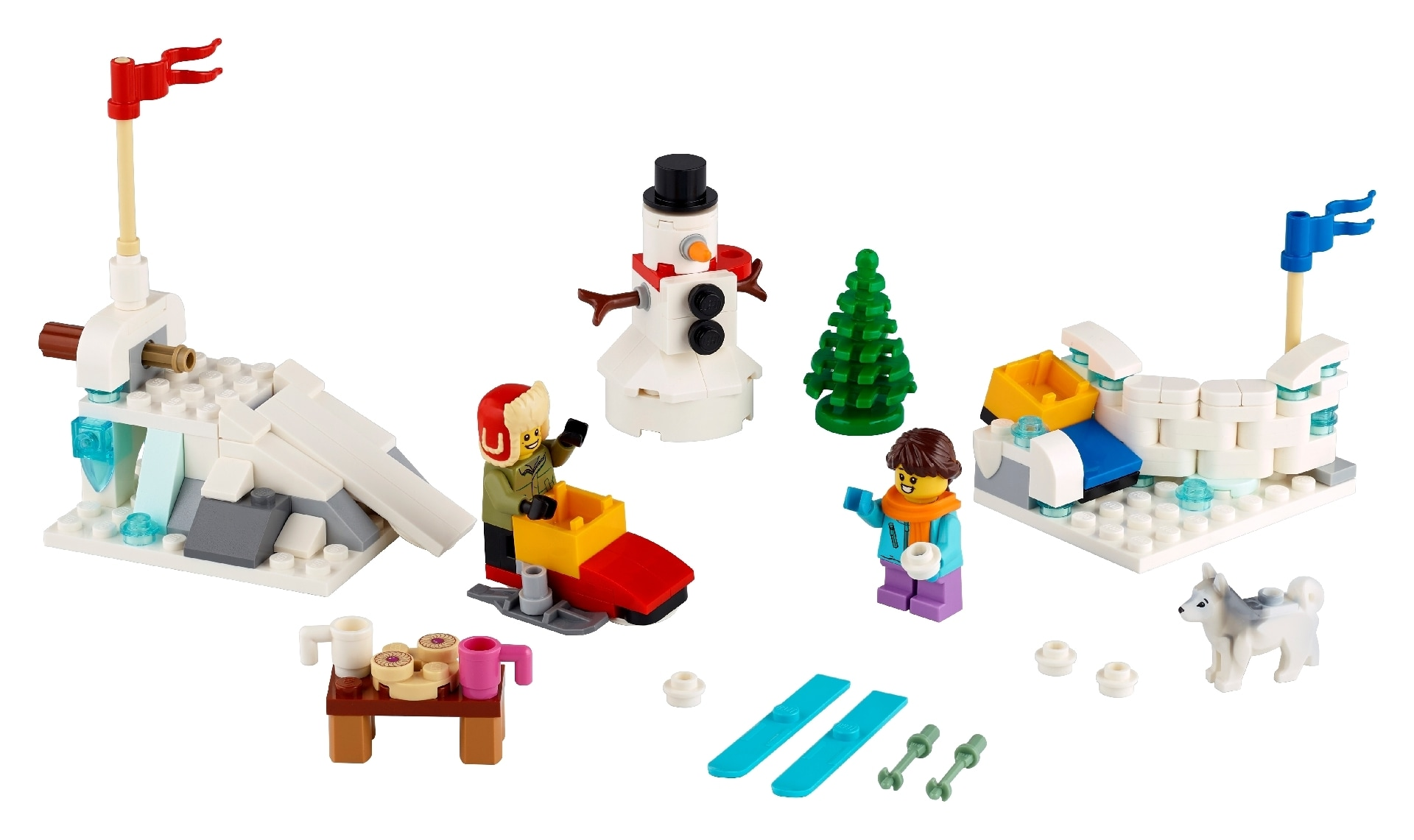 LEGO® Winter Snowball Fight