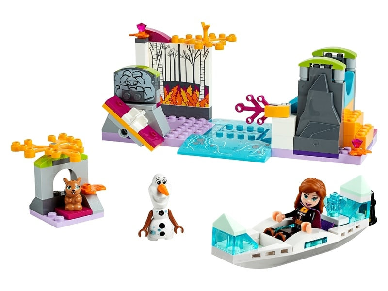 LEGO® Instructions PLUS Anna's Canoe Expedition