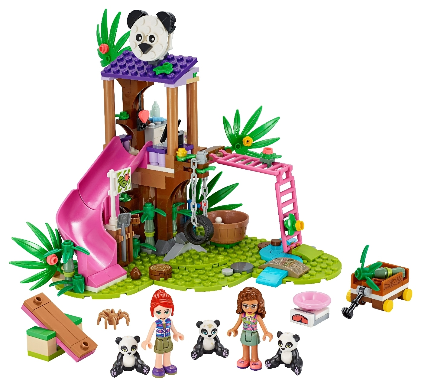 Panda Jungle Tree House