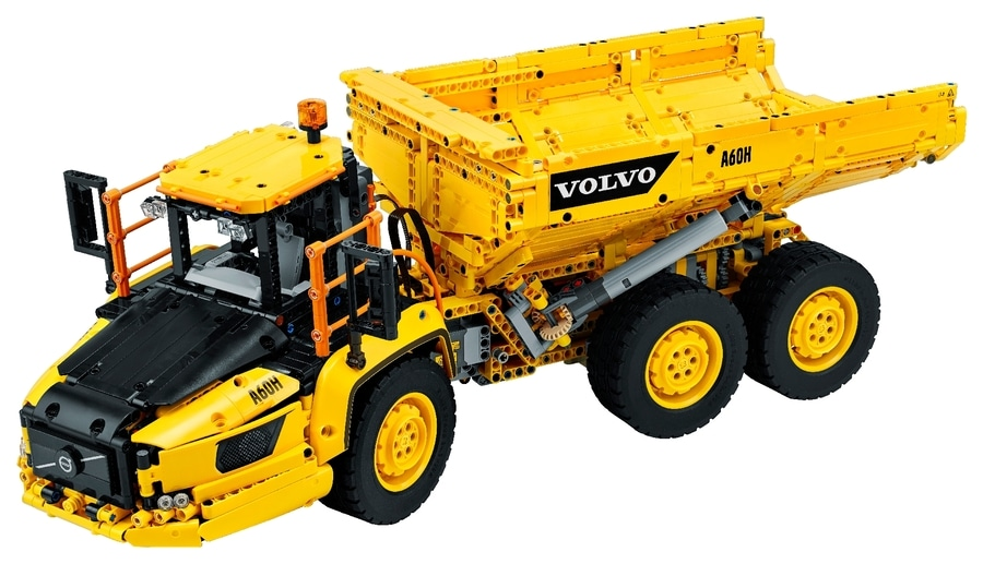 6x6 Volvo Articulated Hauler