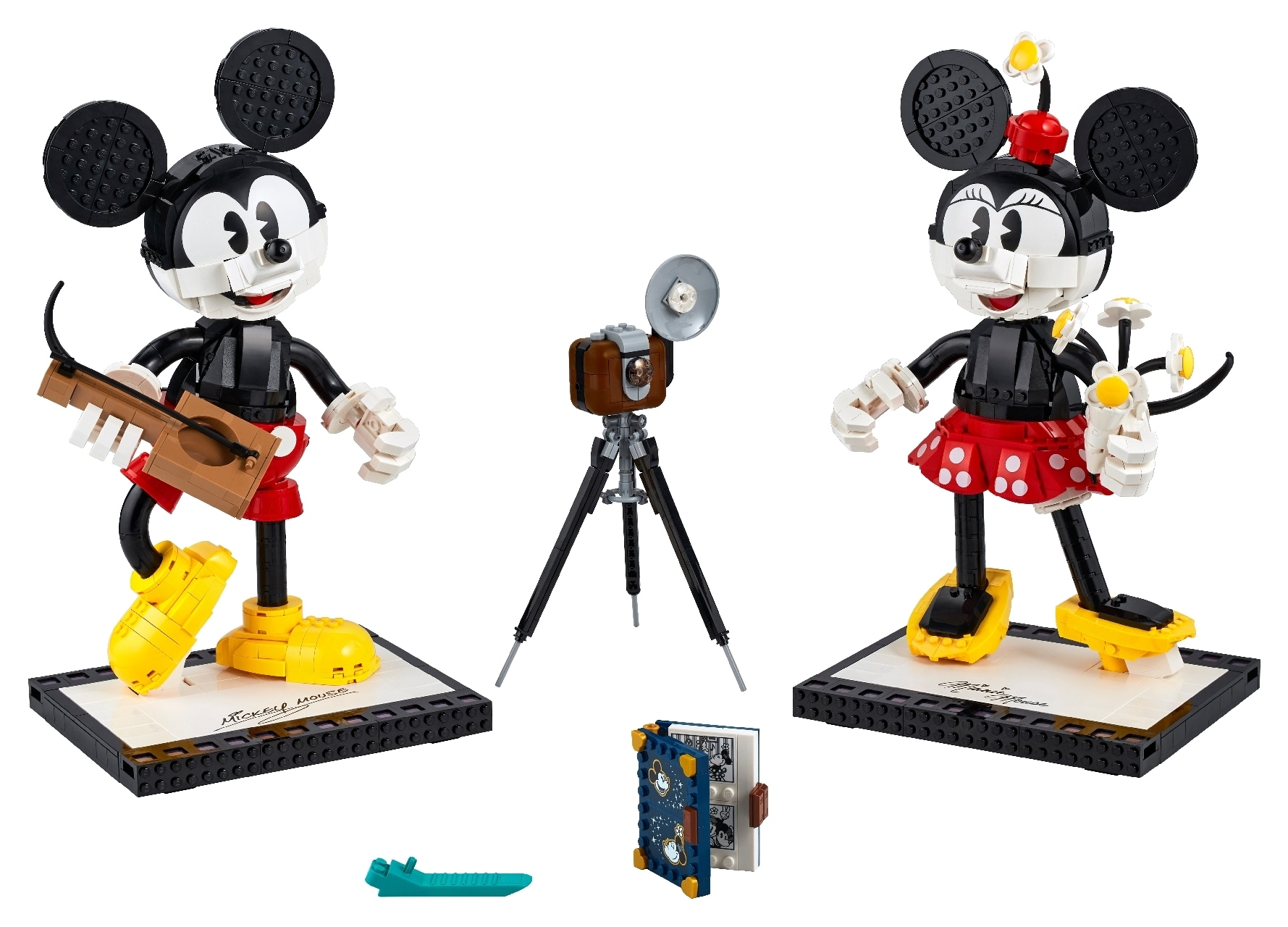LEGO® Mickey Mouse & Minnie Mouse Buildable Characters