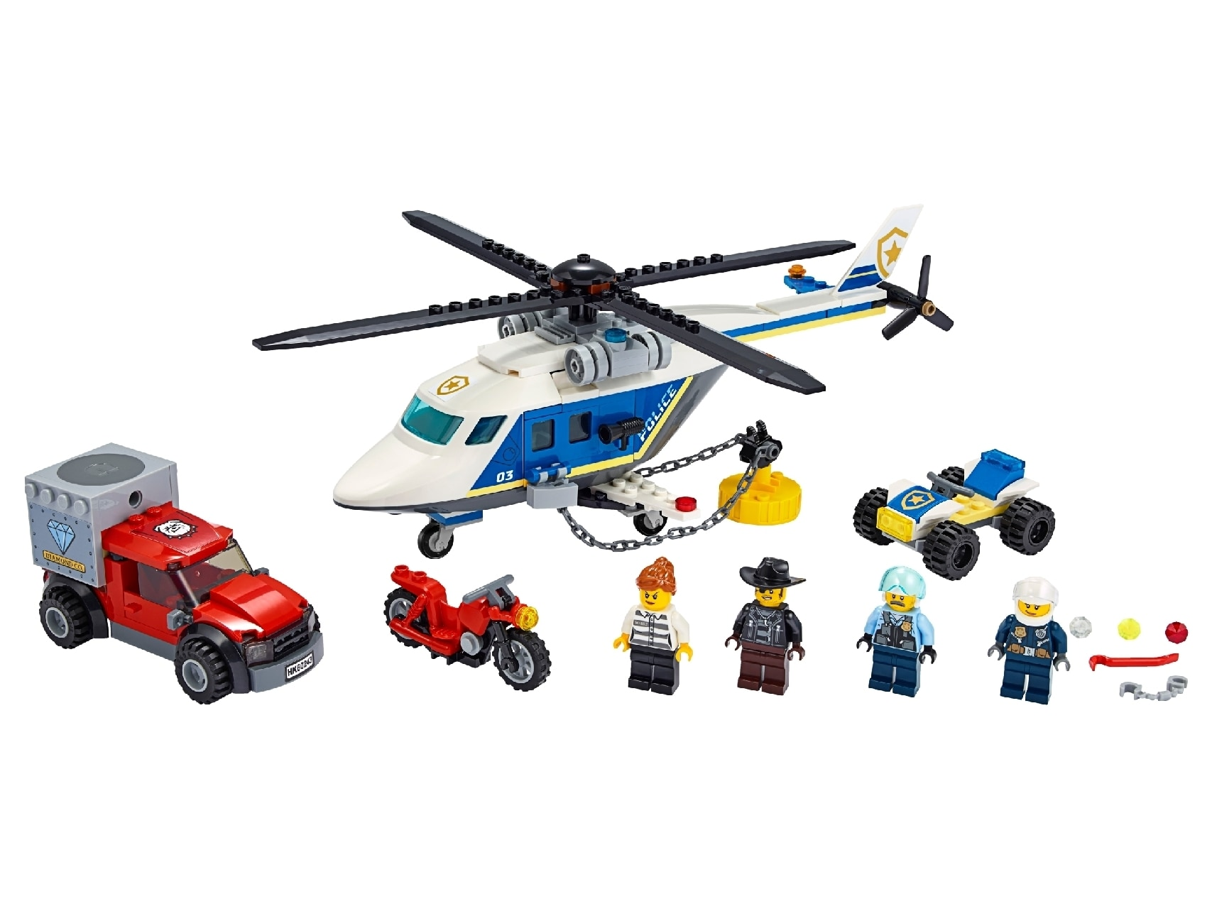 LEGO® City Police Helicopter Chase