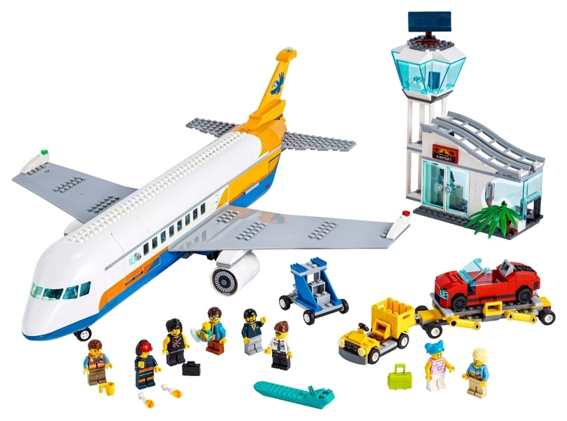 LEGO® City Passenger Airplane