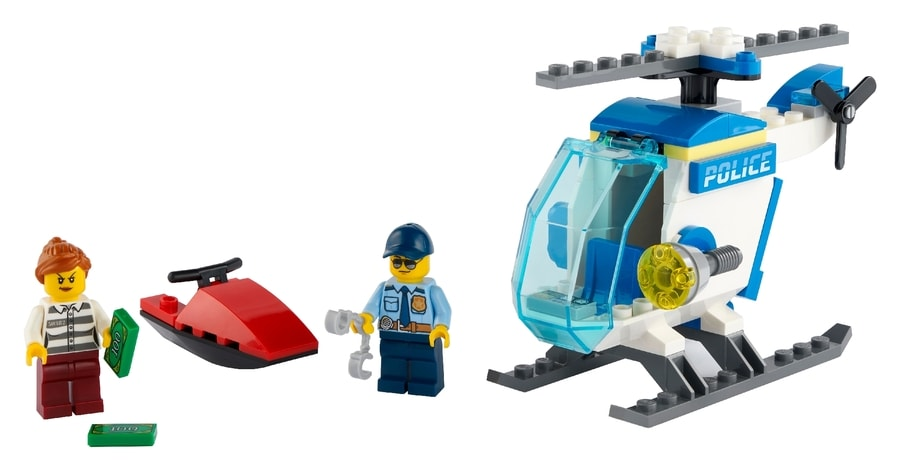LEGO® City Police Helicopter