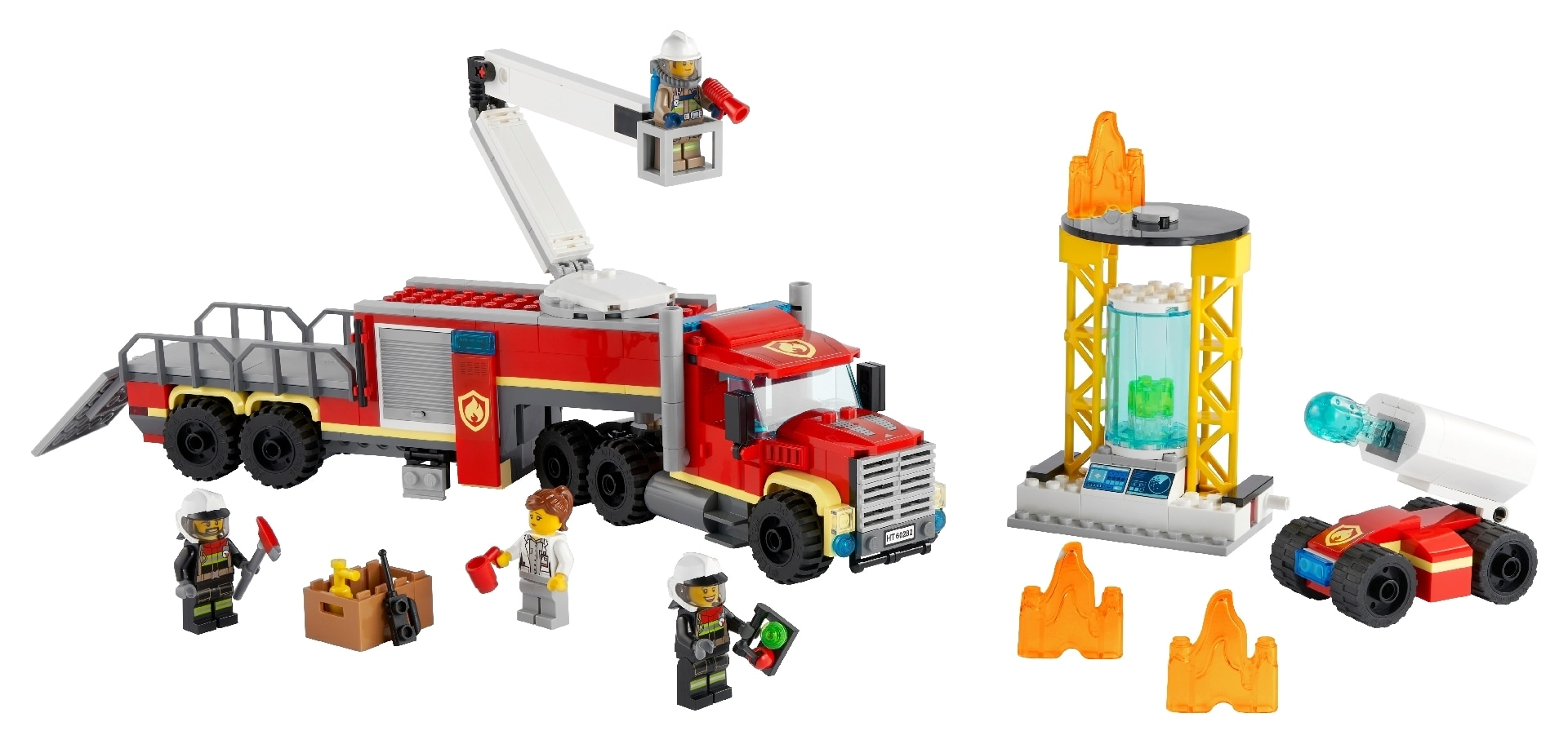 LEGO® City Fire Command Unit