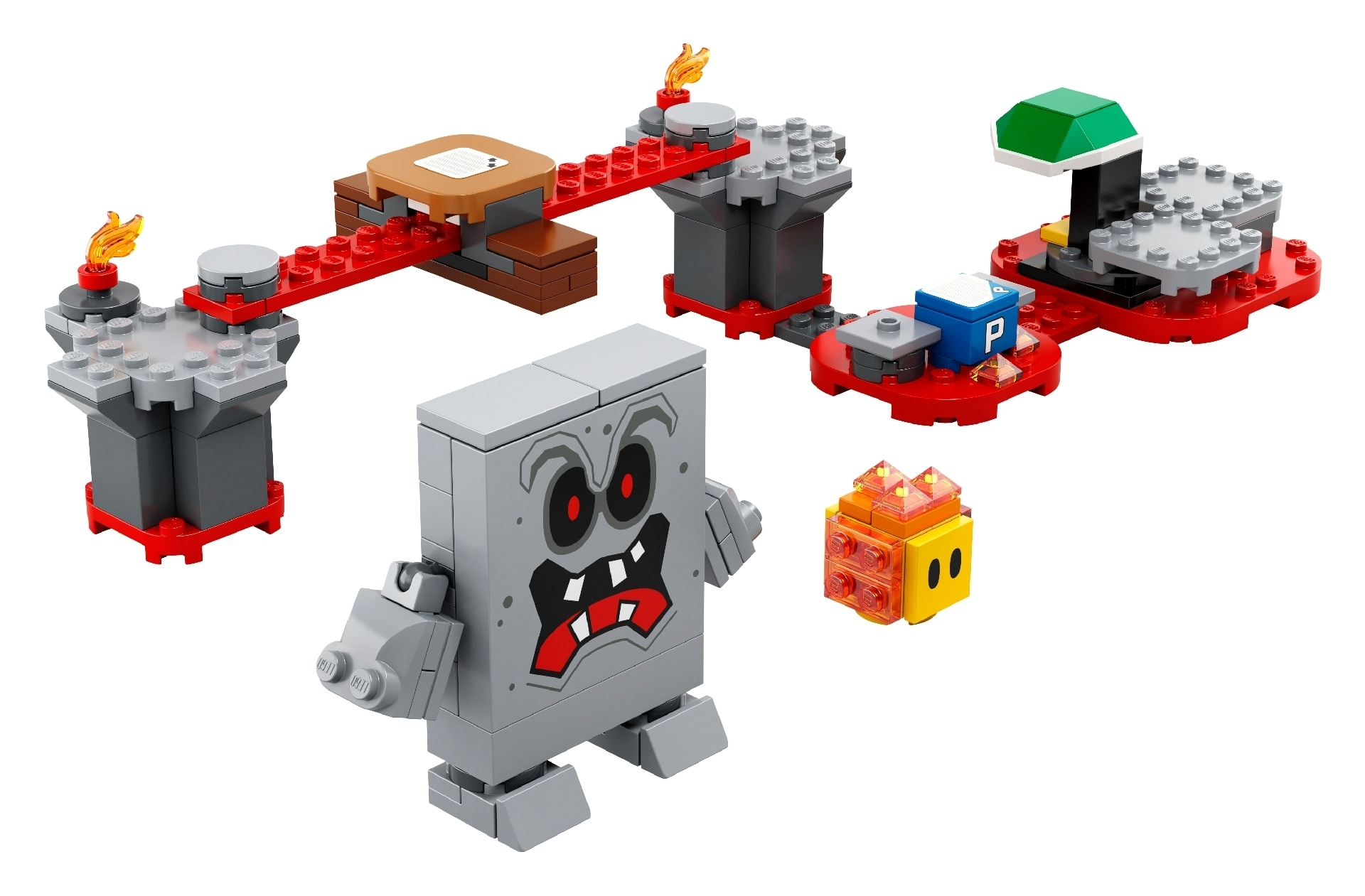 LEGO® Super Mario™ Whomp's Lava Trouble Expansion Set