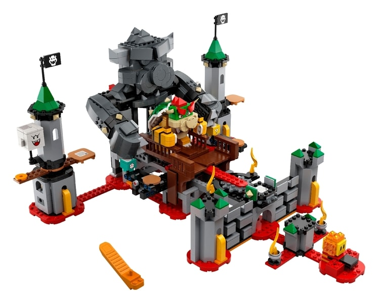 LEGO® Super Mario™ Bowser's Castle Boss Battle Expansion Set