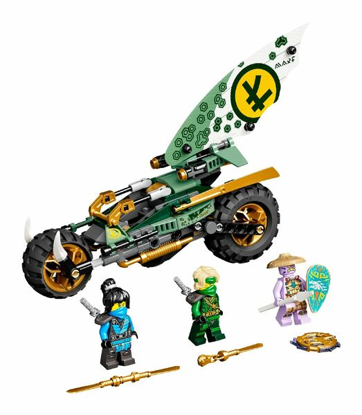 LEGO® NINJAGO® Lloyd's Jungle Chopper Bike