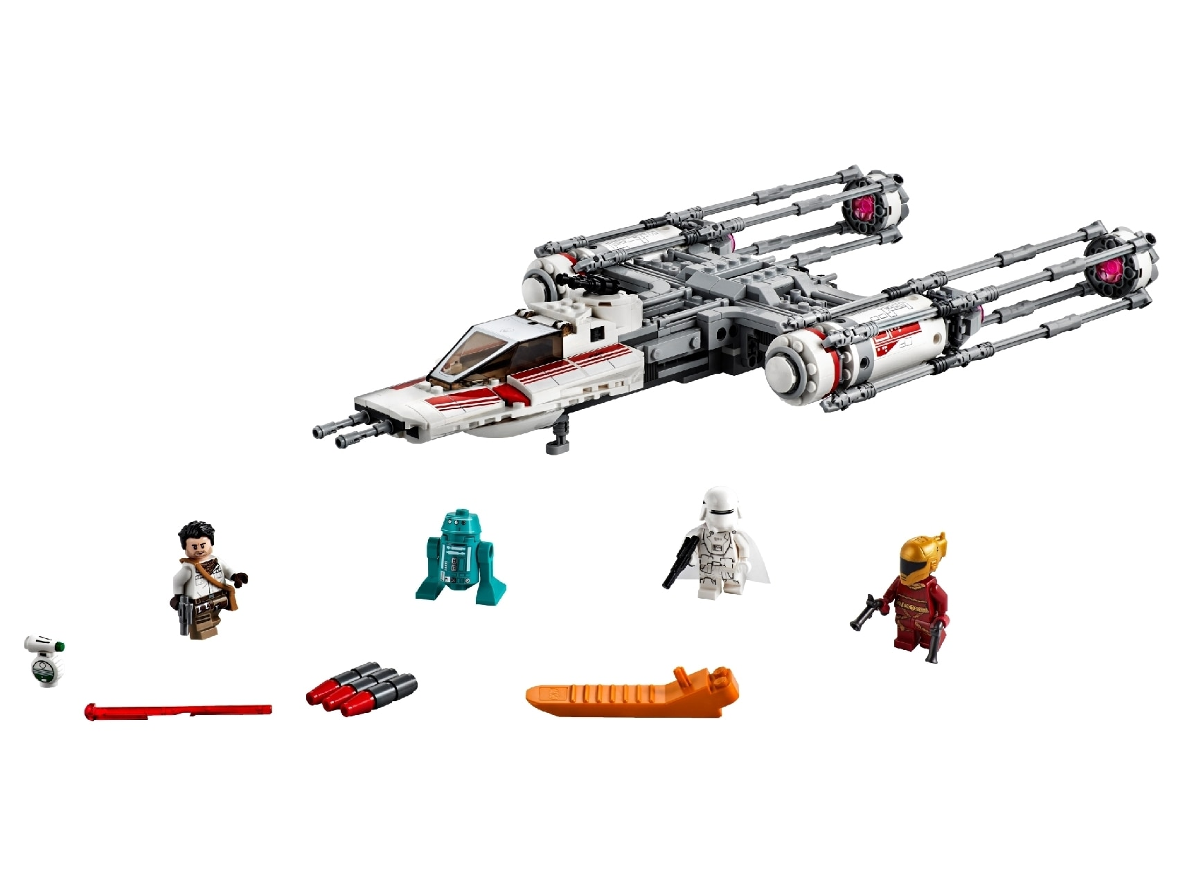 LEGO® Star Wars™ Resistance Y-Wing Starfighter™