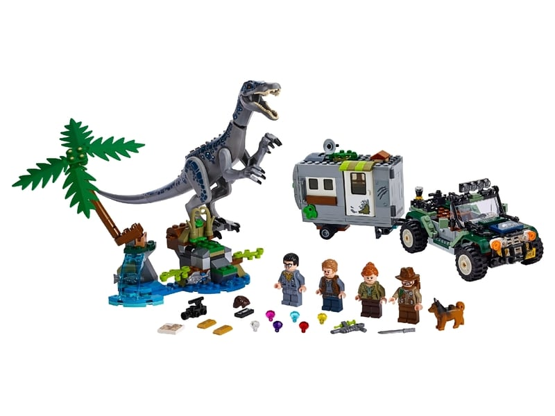 LEGO® Jurassic World Baryonyx Face-Off: The Treasure Hunt