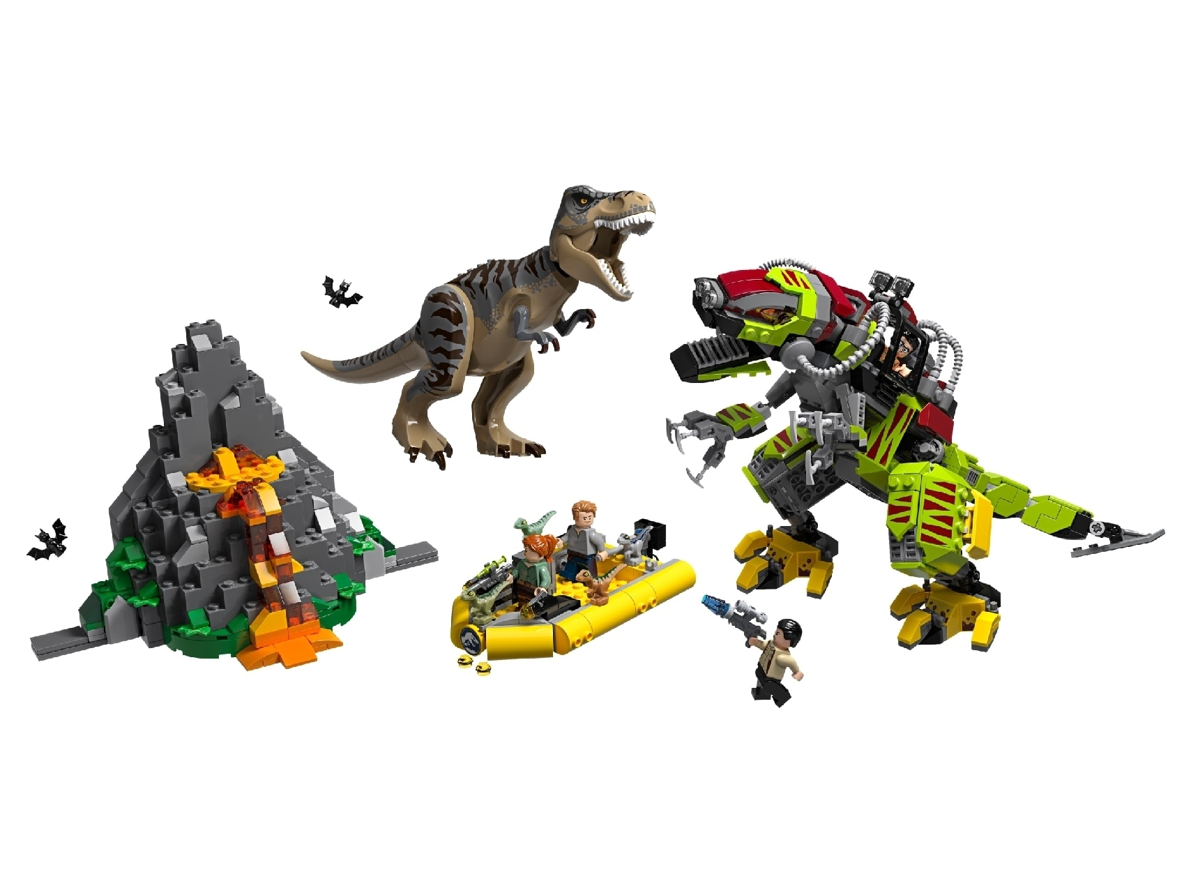 T. Rex vs Dino-Mech Battle