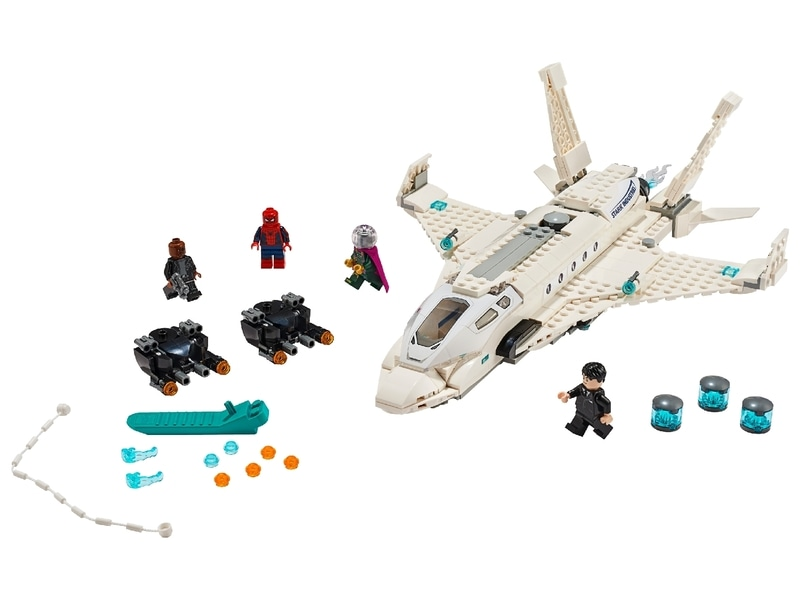 LEGO® Spiderman Stark Jet and the Drone Attack