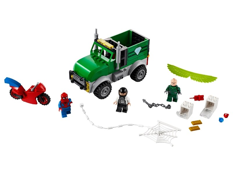 LEGO® Spiderman Vulture's Trucker Robbery