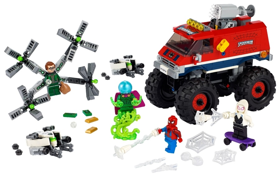 LEGO® Spider-Man's Monster Truck vs. Mysterio