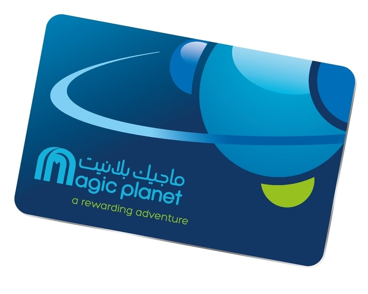 Magic Planet Card